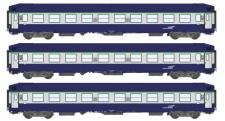 REE Modeles VB-183 SNCF Liegewagen-Set 3-tlg Ep.5