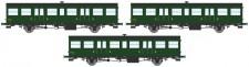 REE Modeles VB146 SNCF Personenwagen-Set 3-tlg Ep.3a