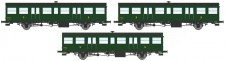 REE Modeles VB152 SNCF Personenwagen-Set 3-tlg Ep.3b