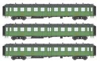 REE Modeles VB210 PLM Personenwagen Set 3-tlg. Ep.2