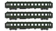 REE Modeles VB214 SNCF Personenwagenset 3-tlg Ep.3b