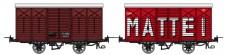 REE Modeles VM012 CFC gedeckter Güterwagen