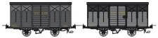 REE Modeles VM013 CFD gedeckter Güterwagen