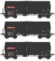 REE Modeles WB-451 SNCF Kesselwagen-Set 3-tlg Ep.5