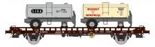 REE Modeles WB-613 SNCF Doppeltragwagen UFR beladen  Ep.3