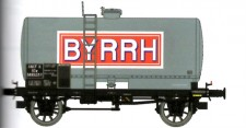REE Modeles WB457 SNCF BYRRH Kesselwagen 2-achs Ep.3