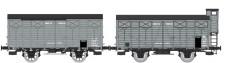 REE Modeles WB683 MIDI gedeckte Güterwagen-Set 2-tlg. Ep.2
