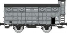 REE Modeles WB684 MIDI gedeckter Güterwagen Ep.2