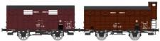 REE Modeles WB685 PLM gedeckte Güterwagen-Set 2-tlg. Ep.2