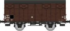 REE Modeles WB690 SNCF gedeckter Güterwagen Ep.3b
