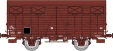 REE Modeles WB693 SNCF gedeckter Güterwagen Ep.4