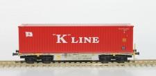 Rocky-Rail RR40123 AAE Containerwagen 4-achs Ep.6