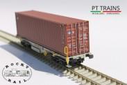 Rocky-Rail RR40135 VTG AAE Containerwagen 4-achs Ep.6