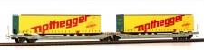 Rocky-Rail RR90336AC AAE Cargo Taschenwagen 6-achs Ep.6