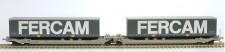 Rocky-Rail RR90341AC AAE Cargo Taschenwagen 6-achs Ep.6