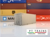 PT Trains 802001 20´DV type MSC White