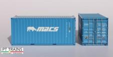 PT Trains 820016 20ft DV MACS (MOCU3001822)