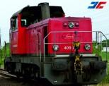Jägerndorfer JC10662 Rail Cargo Carrier E-Lok Rh 409 Ep.6 AC