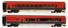 Jägerndorfer JC11207 ÖBB Railjet Personenwagen-Set 2-tlg AC
