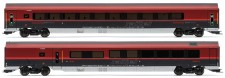 Jägerndorfer JC11218 ÖBB railjet Personenwg-Set 2-tlg Ep.6 AC