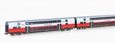 Jägerndorfer JC60020 ÖBB Cityjet Doppelstockw.-Set 2-tlg Ep.6