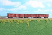 AF Models AF35004 BVZ offene Güterwagen-Set 3-tlg Ep.6