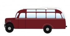 NPE NA88056 Borgward Bus B2000 Bundesbahn