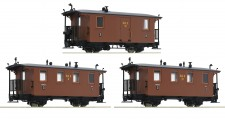 Roco 34043 RüKB Personenwagen-Set 3-tlg. Ep.1