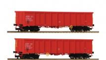 Roco 37645 DBAG offene Güterwagen-Set 2-tlg Ep.5/6