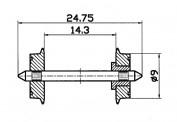 Roco 40194 NEM-Normradsatz  9mm