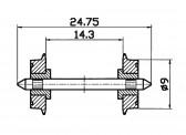 Roco 40197 NEM-Normradsatz  9mm