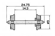 Roco 40266 RP-25-Radsatz