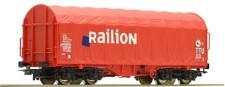 Roco 41514-2 Railion Schiebeplanewagen Ep.6