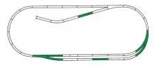 Roco 42011 Gleisset C ROCO-LINE mit Bettung