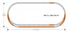 Roco 61152 GeoLine Gleisset C1