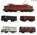 Roco 61459 NS 5-tlg. Set: E-Lok 1224 mit Güterzug