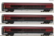 Roco 64191 ÖBB Railjet Personenwg.-Set 3-tlg Ep.6