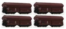Roco 67083 DB Selbstentladewagen 4-achs. Set 4-tlg