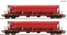 Roco 67087 DB AG Selbstentladewagen 4-achs.Set 2-t