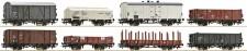 Roco 67128 NS Güterwagen-Set 8-tlg Ep.3