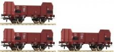 Roco 67145 FS offene Güterwagen-Set 3-tlg Ep.3
