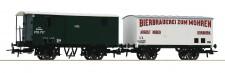 Roco 67172 KKSTB/BBÖ Güterwagen-Set 2-tlg Ep.1