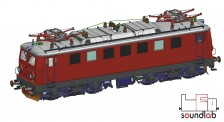 Roco 73961 ÖBB E-Lok Rh 1041 Ep.5