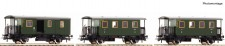 Roco 74054 DB Personenwagen-Set 3-tlg Ep.3