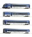 Roco 74065 CD Railjet Personenwagen-Set 4-tlg Ep.6