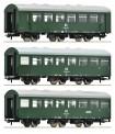 Roco 74070 DR Personenwagen-Set 3-tlg. Ep.4