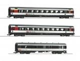 Roco 74082 SBB Personenwagen-Set 3-tlg. Ep.6