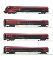 Roco 74085 4-tlg Set Railjet AC