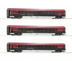 Roco 74087 3-tlg Set Railjet DCC