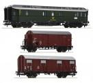 Roco 74091 DB Postwagen-Set 3-tlg. Ep.3